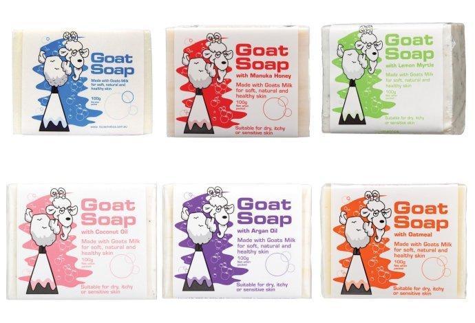 *現貨* 澳洲 Goat soap 純天然羊奶手工肥皂100ml