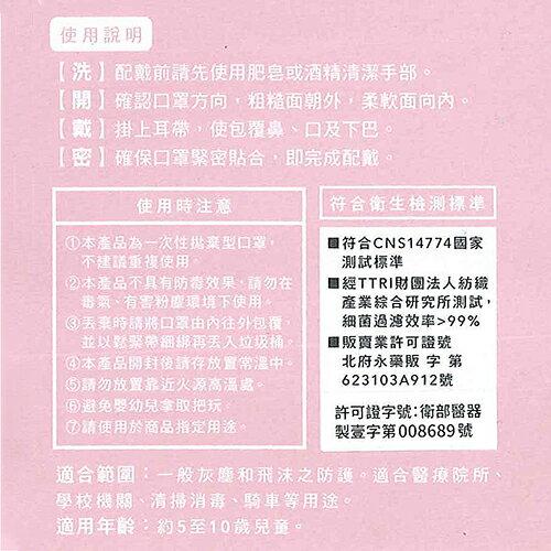 特惠-《真心良品xUdlife》吸護醫用拋棄式兒童立體口罩-100片【母親節推薦】