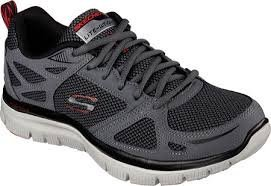 SKECHERS FLEX ADVANTAGE 灰 男鞋 US 11.5~14 51460EW/CCRD B