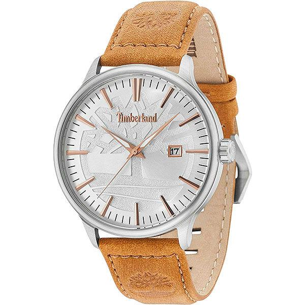 Timberland 天柏嵐 TBL.15260JS / 04 美式復古流行腕錶 / 銀面 46mm - 限時優惠好康折扣