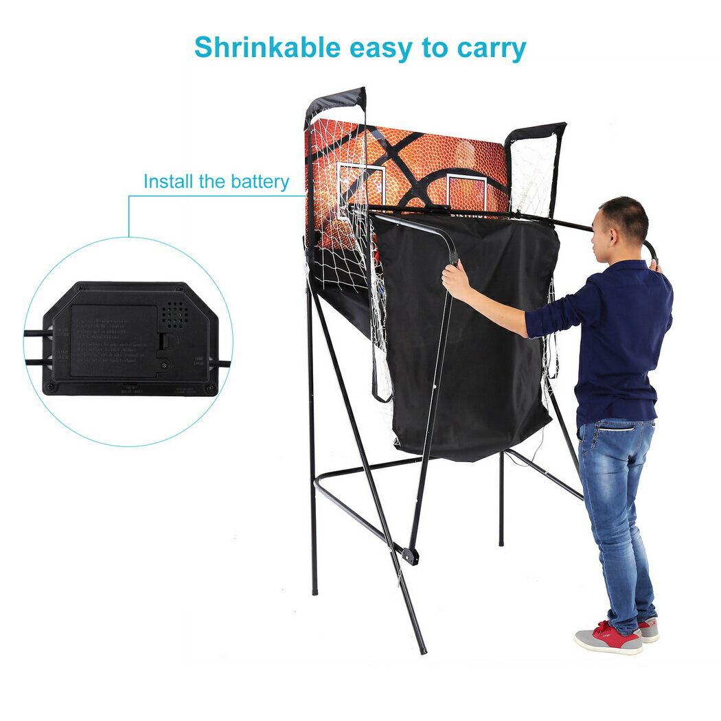 Basketball Double Shot Arcade System Foldable 3