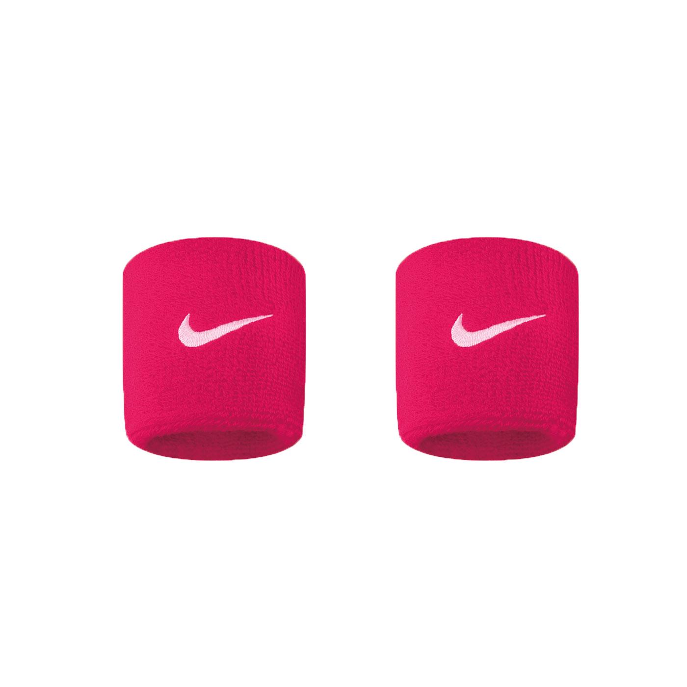 NIKE SwooSh 單色腕帶(慢跑 路跑 籃球 網球 羽球 一雙入【98341120】≡排汗專家≡