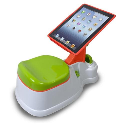 CTA Digital 2-In-1 iPotty with Activity Seat for iPad - 43 lb Load Capacity 1