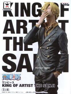 日版金證 KING OF ARTIST THE SANJI 香吉士 藝術王者 航海王 海賊王 彩色王