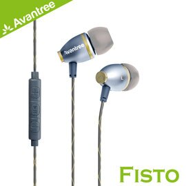 【Avantree Fisto入耳式線控耳機】iPhone iPod FiiO M3都可搭配使用 【風雅小舖】 - 限時優惠好康折扣