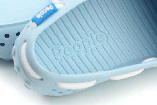 people  休閒鞋 童鞋 淺藍色 大童 no002 5