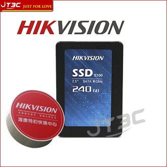 【最高現折$350】HIKVISION 海康 海康 E100 SSD 240GB SATA3 固態硬碟 (3D NAND FLASH) (三年保固)