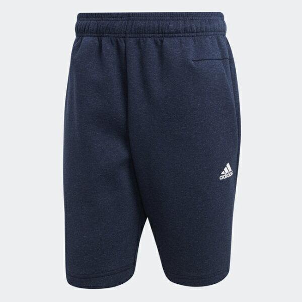 ADIDASIDStadiumShorts男裝短褲慢跑休閒舒適輕量基本款藍【運動世界】CW0870
