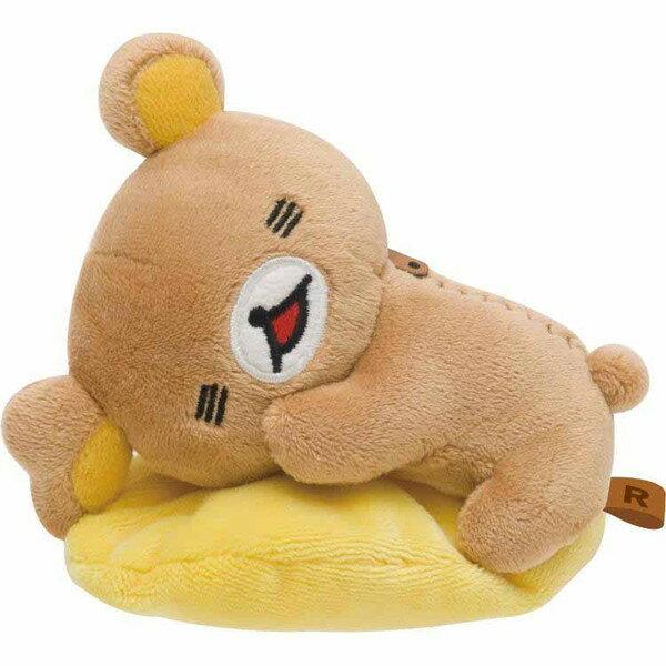 【真愛日本】16082000022棉柔公仔SS-懶熊表情舒服拉拉熊 Rilakkuma 娃娃 擺飾 收藏