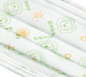 【安琪兒】台灣【Simba 小獅王】兒童三層防護口罩(5枚) 2