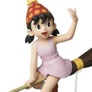 【預購】日本進口激稀有! UDF 哆啦A夢 小叮噹 掃把 靜香 宜靜 Medicom toy【星野日本玩具】