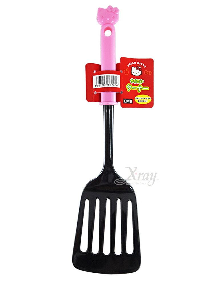 Hello Kitty 日本製塑膠鍋鏟,煎匙 / 餐具 / 炒菜 / 湯勺 / 勺子 / 飯匙 / 廚房小物,X射線【C167484】 0