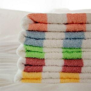純棉線條毛巾  來福品牌 33~76公分 133公克 中薄款 吸水透氣