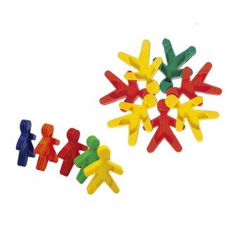 【華森葳兒童教玩具】建構積木系列-餅乾小人 E10-B02 (華森葳系列消費1500元加贈赫利手動炫光風扇)