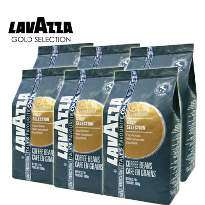義大利【LAVAZZA】GOLD SELECTION 咖啡豆(1000g) / 一箱6包