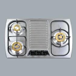 和成HCG 不銹鋼檯面式三口瓦斯爐液化/GS303 LPG 合格瓦斯承裝業 全省免費安裝(離島及偏遠鄉鎮除外)