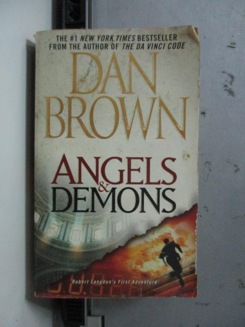 【書寶二手書T1/原文小說_NBA】Angels & Demons_Dan Brown