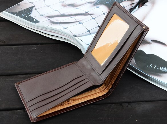 Men's Synthetic Leather Wallet (2 Colors) 3