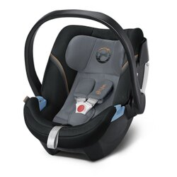 Cybex ATON 5 嬰兒提籃型安全座椅/ 嬰兒汽座- 沉靜黑灰 2018