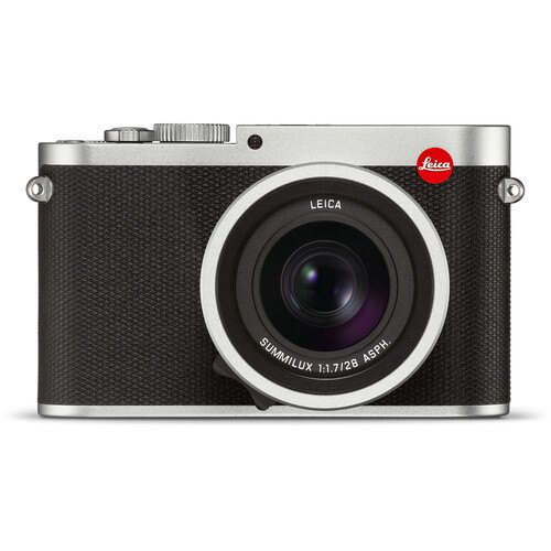 Leica Q 24.2 Megapixel Digital 35 MM Compact Camera (Silver Anodized TYP 116) 19022 0