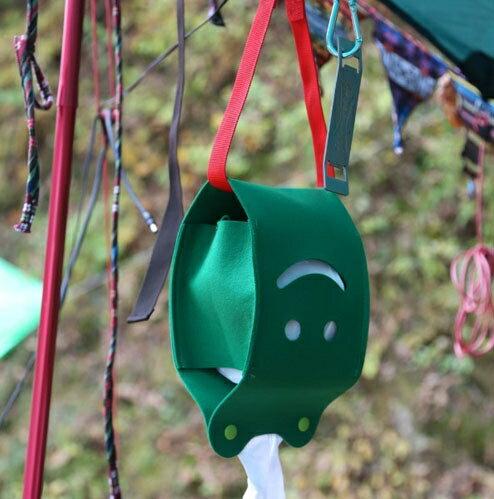 ├登山樂┤Ridge Line 彩色微笑面紙盒 - 綠色 #OT867277GR