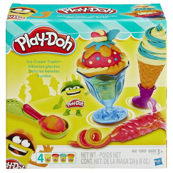 《Play-Doh 培樂多》迷你聖代遊戲組