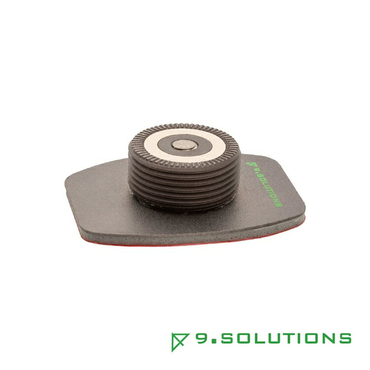 9.Solutions 磁鐵快速連接(座) 可彎式黏著固定底座 Quick Mount Receiver to Adhesive Plate #9.XA1018