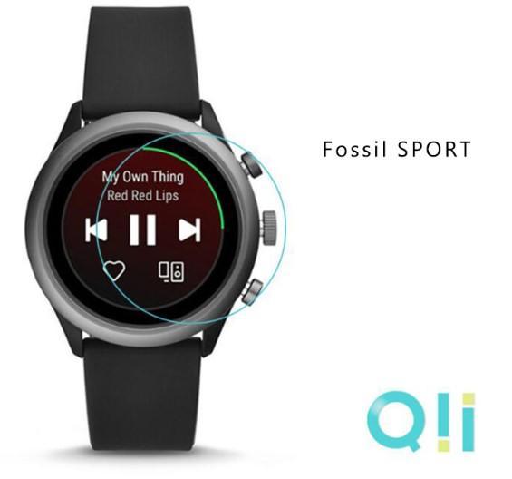 【愛瘋潮】Qii Fossil Carlyle HR Gen5 玻璃貼 (兩片裝) 手錶保護貼