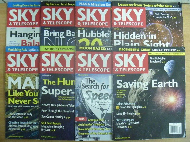 ~書寶 書T4/雜誌期刊_RDH~SKY   Telescope_2010 4^~12月間