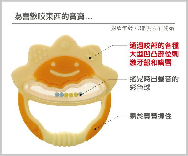 Richell利其爾 - 固齒器 橘黃色一般型 (盒裝) 3