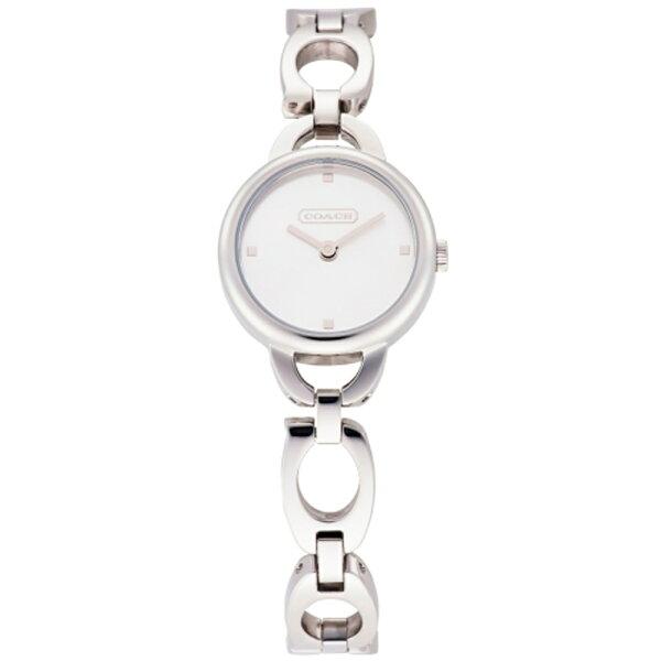 COACHKristin鏤空造型時尚女錶-銀