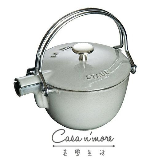 Staub 鑄鐵 水壺 茶壺 1.15 L 圓形 法國製 石墨灰 - 限時優惠好康折扣