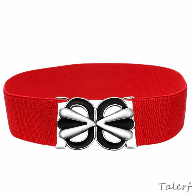泰樂福女用腰封女皮帶腰帶(紅色)→現貨
