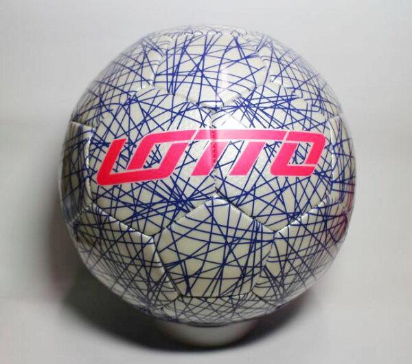 [陽光樂活=]義大利LOTTO專業足球5號FB900蜘蛛網線條設計