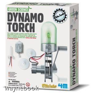 【4M 創意 DIY】00-03263 神奇發電機 Dynamo Torch