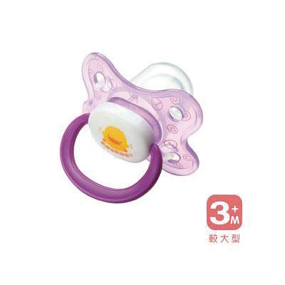 【悅兒樂婦幼用品?】Piyo 黃色小鴨 拇指型安撫奶嘴(較大型)