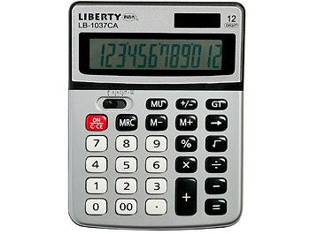 利百代 LB-1037CA 12位元計算機