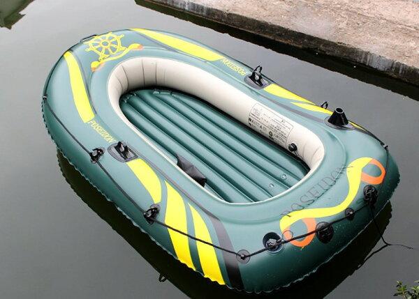 幸福家居商城:2017酷夏消暑玩水游泳必備加厚特大四人用釣魚船充氣船橡皮船橡皮艇竹筏漁船汽艇