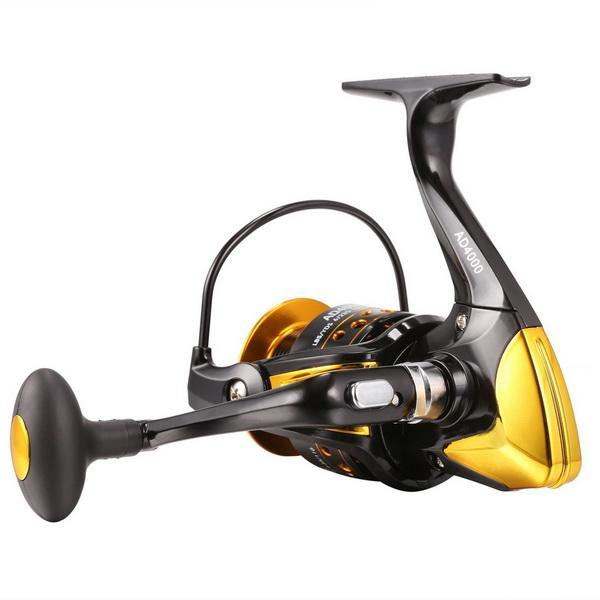 Fishing Reel Interchangeable Collapsible Handle Spinning 3