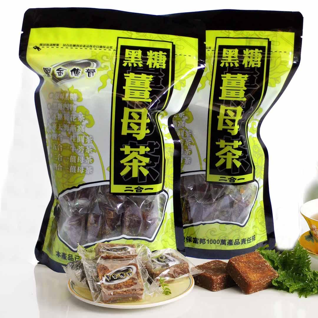 【黑金傳奇】二合一黑糖薑母茶(大顆,455g) 0