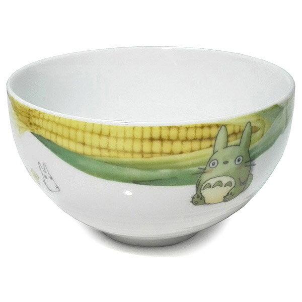 【真愛日本】18021100006精緻湯碗-蔬果彩繪玉米宮崎駿龍貓TOTORO飯碗Noritake