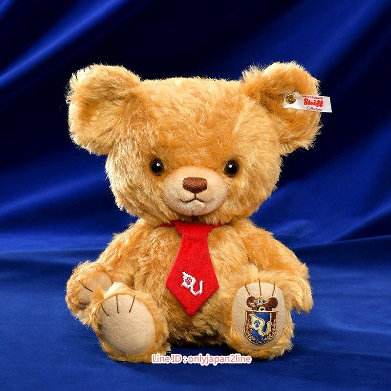 【真愛日本】17021800001大學熊6週年Steiff聯名摩卡紀念禮盒   迪士尼專賣店限定 娃娃 玩偶 擺飾 收藏