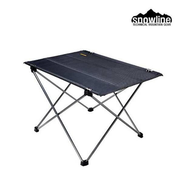 《台南悠活運動家》SNOWLINESN65UTA003T3背包客捲收矮布桌-鋁合金骨架