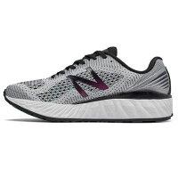 New Balance 美國慢跑鞋/跑步鞋推薦NEW BALANCE 女鞋 慢跑 輕量 透氣 舒適 灰 白 黑 【運動世界】 WVNGOWB2