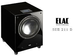 ELAC SUB 211D 頂級超低音 揚聲器 音響(單機)  金曲音響