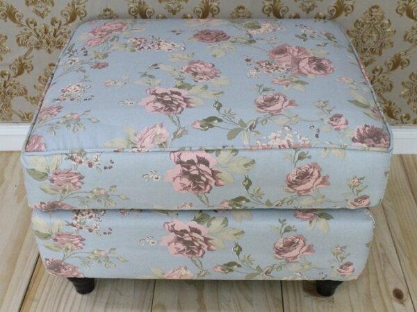客廳沙發沙發凳L型沙發2人3人跨腳椅客廳椅小孩椅(經典花)