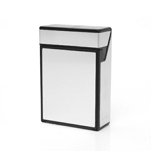 煙盒 現代風金屬感上掀式菸盒【NL169】