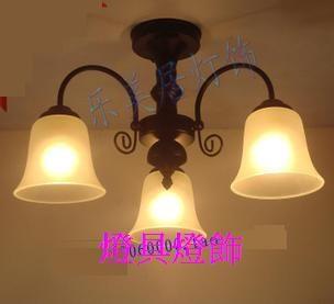 歐式簡約田園 吸頂 臥室客廳 燈具