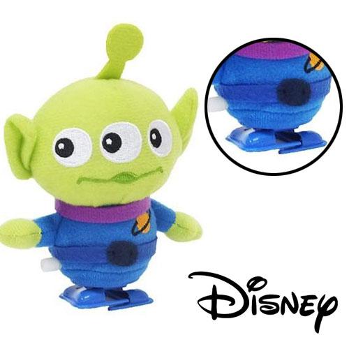 【日本進口正版】迪士尼 皮克斯 三眼怪 發條玩偶 發條走路玩偶 發條公仔 發條玩具 - 055964
