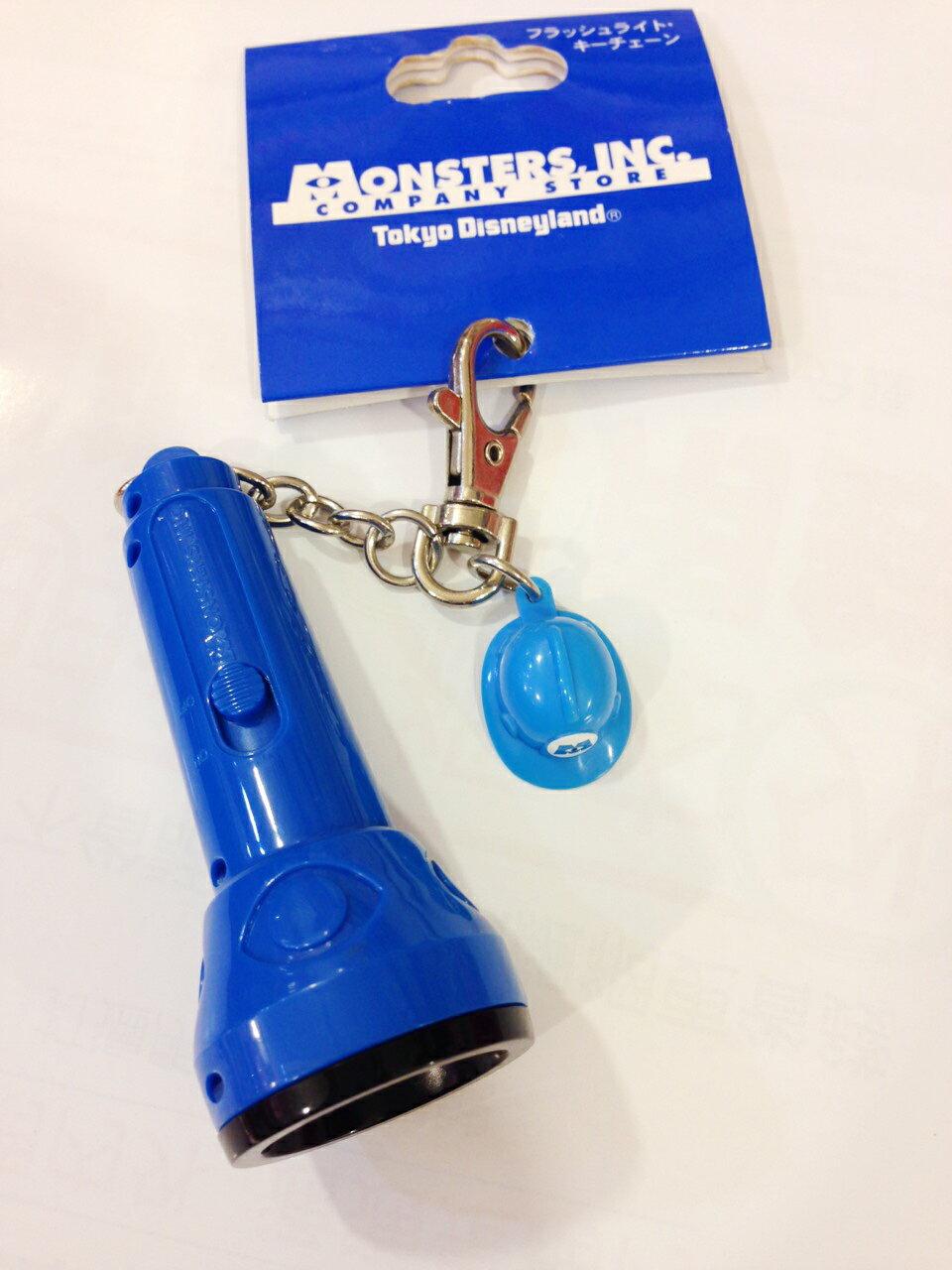 【真愛日本】15020100035 DN限定鎖圈-電力公司手電筒 怪獸電力公司 毛怪 大眼仔 手電筒 照明 鑰匙圈